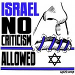 No criticism of Israel allowed