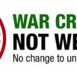 War criminals not welcome
