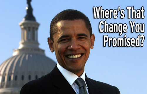 Barack No Change Obama