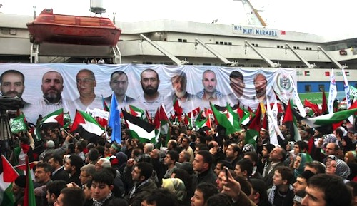 In memory of Mavi Marmara victims