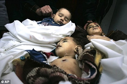 Palestinian children killed by Israel