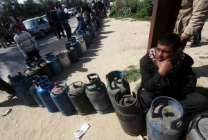 Waiting for gas in Gaza