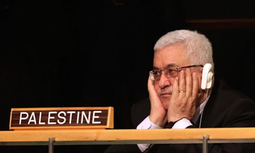 Lackadaisical Mahmoud Abbas
