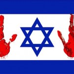 Israel - bloody hands