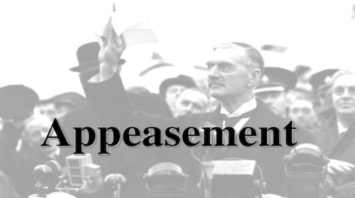 what ended up being all the appeasement