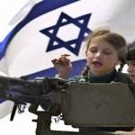 Armed Israeli children