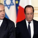 Netanyahu and Hollande