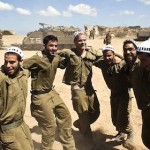 Israeli soldiers celebrate Gaza killings