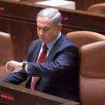 Binyamin Netanyahu isolated