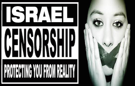 Israeli censorship: protecting you from reality