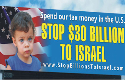 Stop billions to Israel