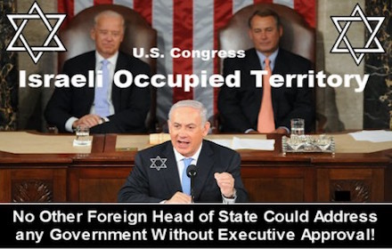 Israeli occupied Congress
