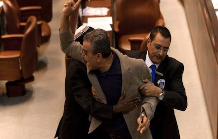 The racial purification of the Knesset