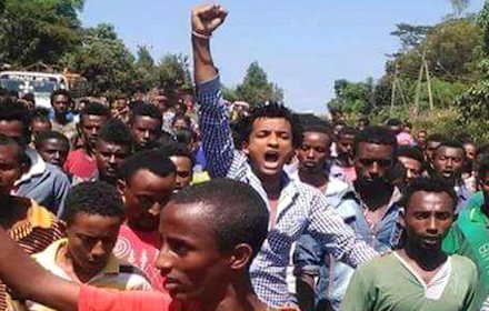 Oromo students' protest