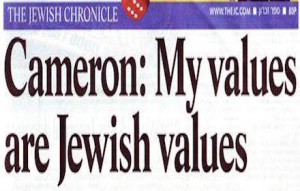 David Cameron Friend of Israel