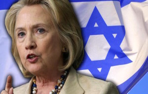Hillary Clinton kowtows to Israel