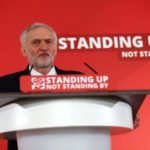 Jeremy Corbyn - standing up