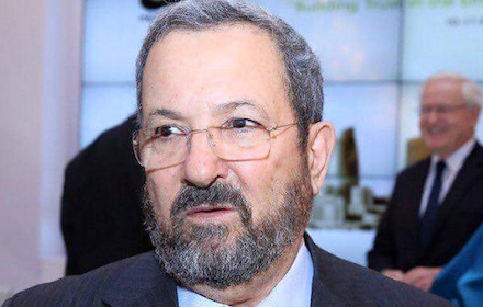 Ehud Barak with beard
