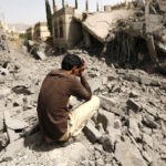 Saudi-inflicted destruction in Yemen