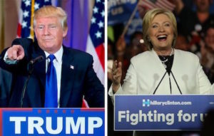 The bigots Donald Trump and Hillary Clinton