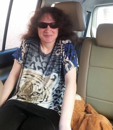 Shirley relieved to be outside Israel